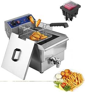 Amazon.com: Belovedkai Electric Deep Fryer, 13L/26L
