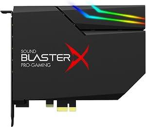 Creative 70SB174000000 Sound BlasterX AE-5 Hi-Resolution PCIe Gaming Sound Card