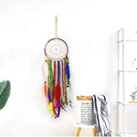 Large Bohemian Dream Catcher|Rainbow colours | New 2021 design| Keyring | Natural Colorful | Home Decor | Tassel Wall…