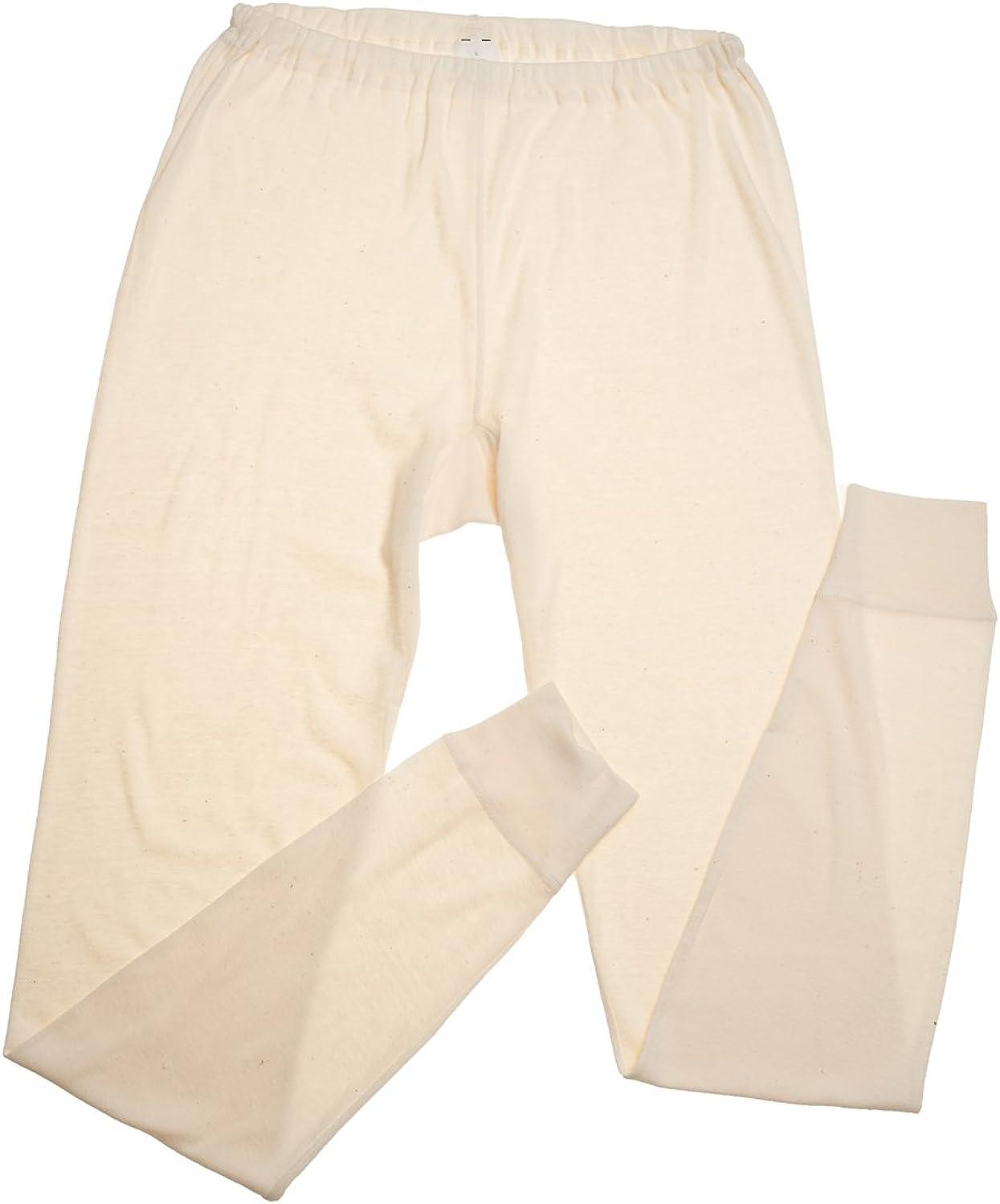 HOCOSA Womens Long-Underwear Pants in Organic Cotton//Hemp Blend