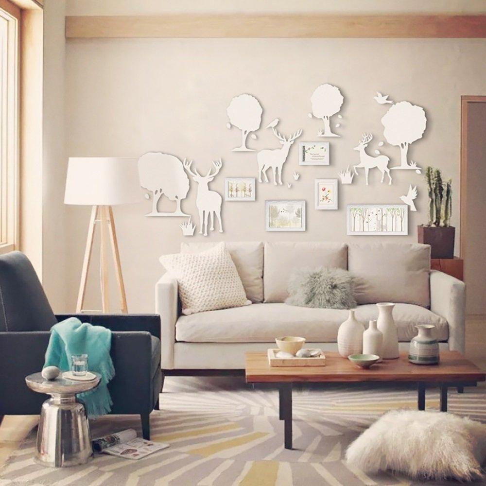 高質 B07FMSX7VF5マルチフレームの写真の壁ヨーロッパの手作りの木製の写真のフレームの壁単純な現代の壁の組み合わせリビングルームの壁のベッドルームの寝室の装飾画 B07FMSX7VF, メガネのウエムラ:948490b8 --- specialcharacter.co