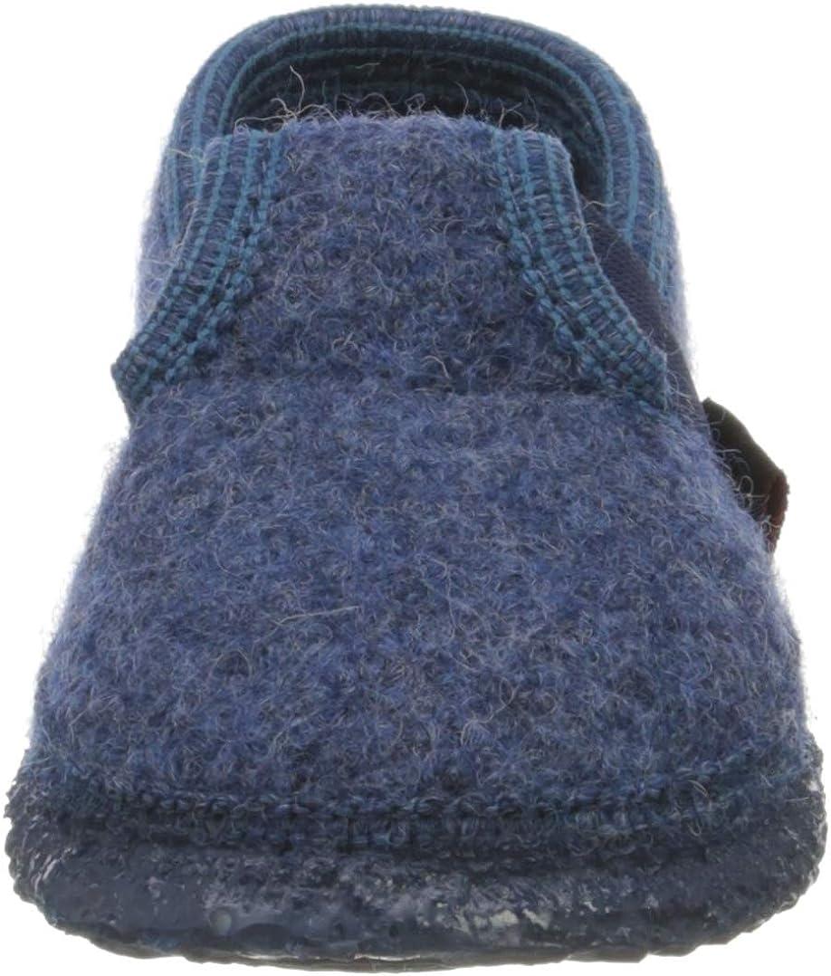 31 Pantofole bambino Blu 527 // jeans Giesswein T/ürnberg