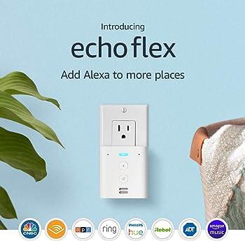 2-Pack Amazon Echo Flex Plug-In Smart Speaker
