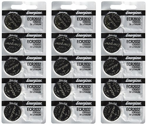 Energizer 2032 Battery CR2032 Lithium 15-3v- Batteries, Model: , Electronic Store