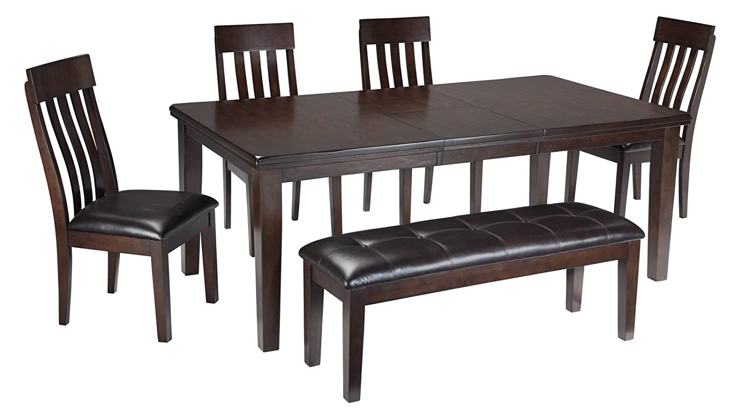 amazoncom signature design by ashley d596 35 dining room table tables - Wooden Dining Table With Chairs