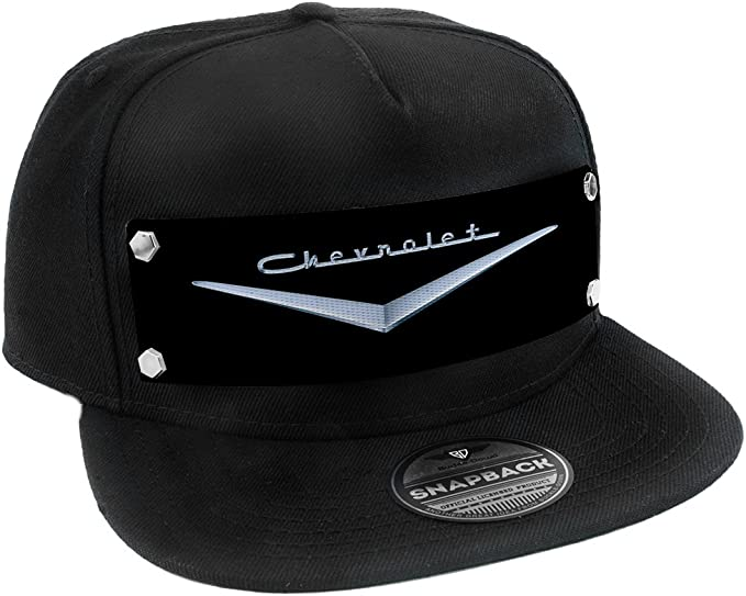 Amazon.com: buckle-down Snapback hat-1955 – 57 Chevrolet V ...