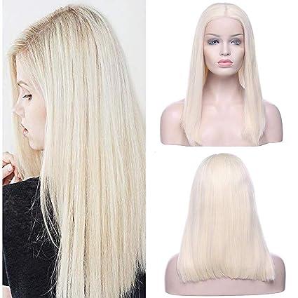 Rimozione dei capelli sul fronte del blonde