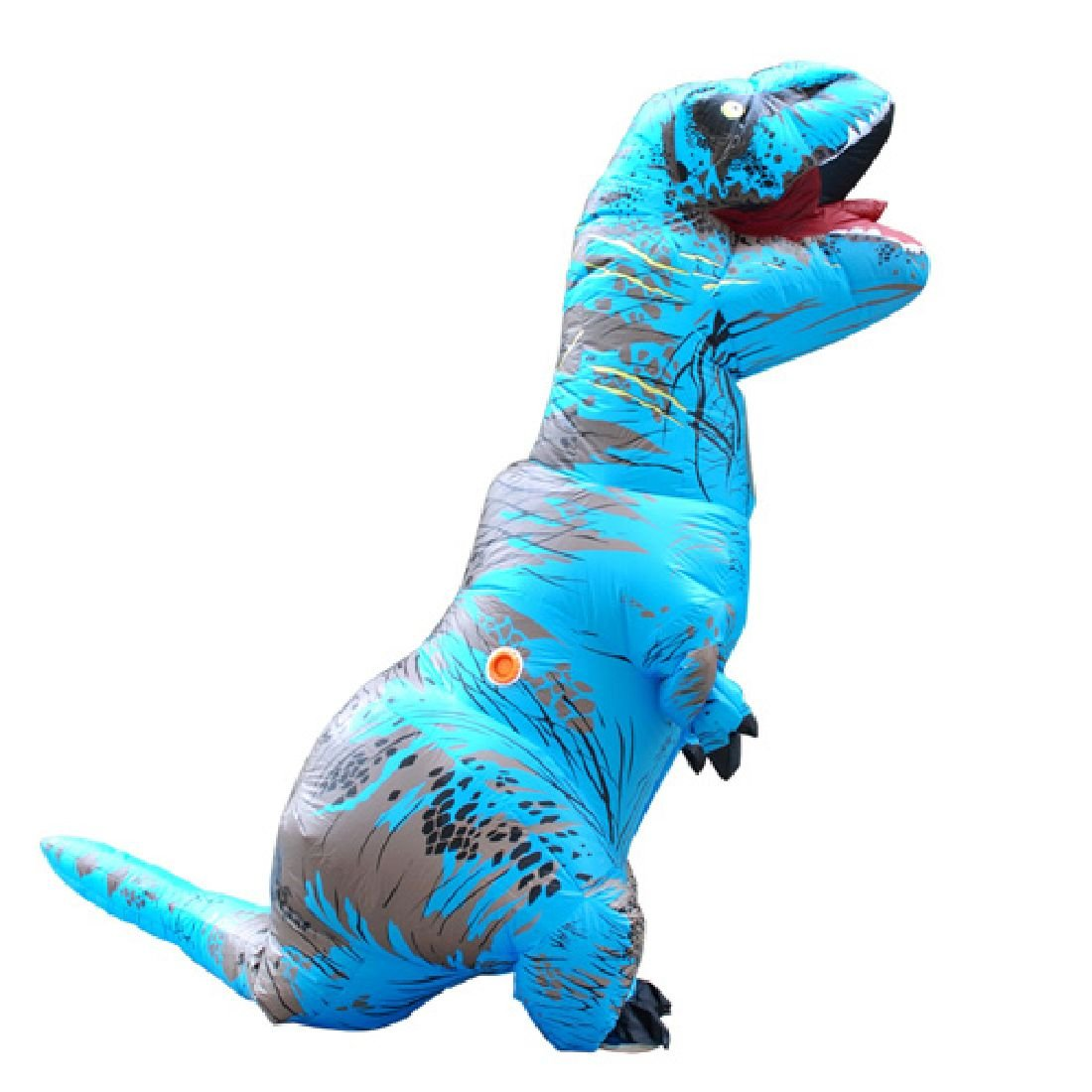 Inflatable Dinosaur Costume Fancy Dress Cosplay Animal Jumpsuit by Crystalbella Inflatable Cos