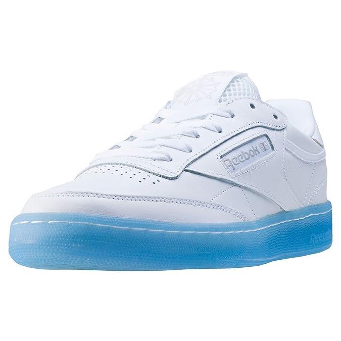 best sneakers 39432 b8437 Reebok Club C 85 Ice Hommes Baskets White Blue - 9 UK  Amazon.fr   Chaussures et Sacs
