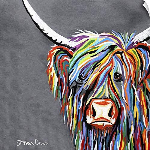 - CANVAS ON DEMAND Rab McCoo Wall Peel Art Print, 24