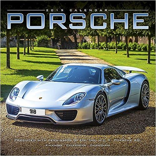 Porsche 2019 Wall Calendar
