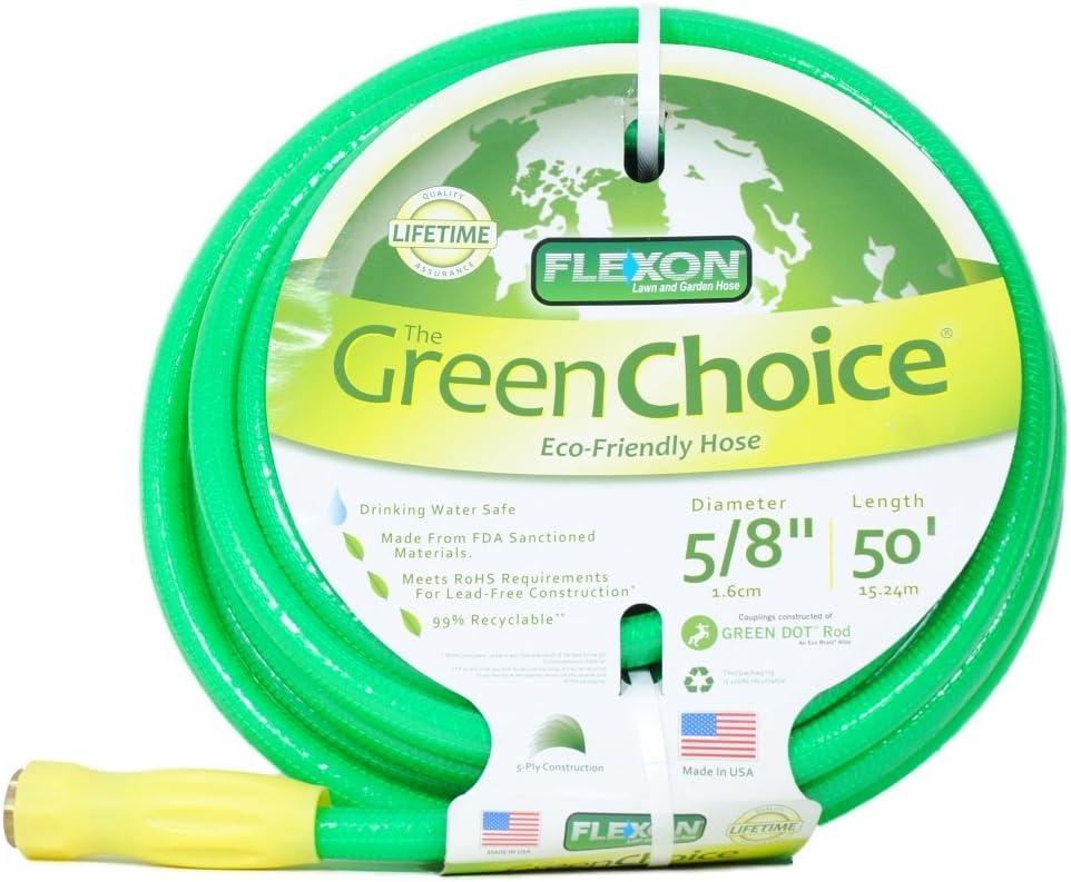 Flexon Green Choice 50 Foot Hose Lead Free 99 Recyclable Amazon Ca Patio Lawn Garden