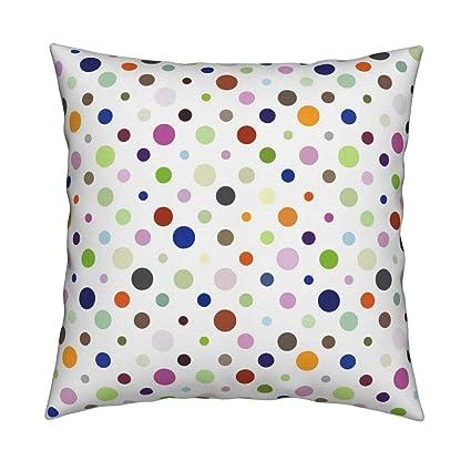 Amazon com: Geometric Eco Canvas Throw Pillow Random Modern