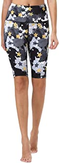 Mint Lilac Women/'s High Waist Workout Yoga Shorts with Pockets Tummy Control Compression Running Short Pants