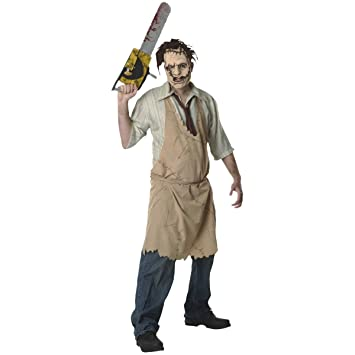 Desconocido LEATHERFACE Dguisement (el Trononneuse Massacre) (Standard - One Size Llene hasta 50