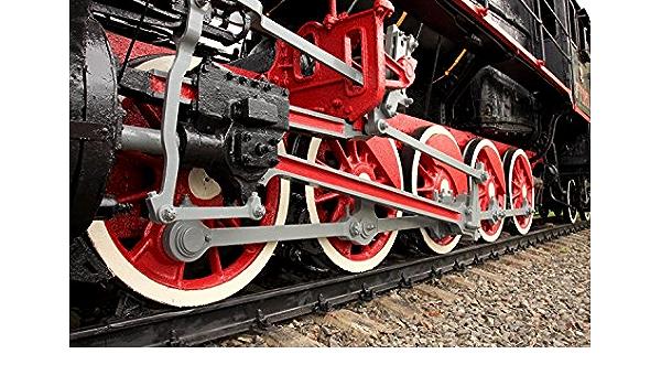 Steam Train Transport Wall Sticker WS-18693