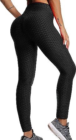 Custom Folding Heart Yoga Pants Leggings for Women Stretchy Skinny Pants Cropped Trousers Leggings for Running Sports