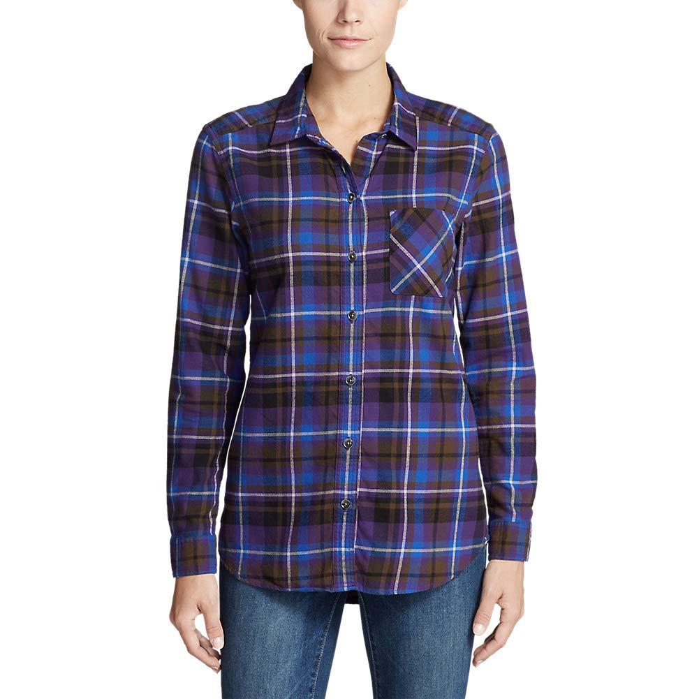 Boyfriend Eddie Bauer Womens Stines Favorite Flannel Shirt