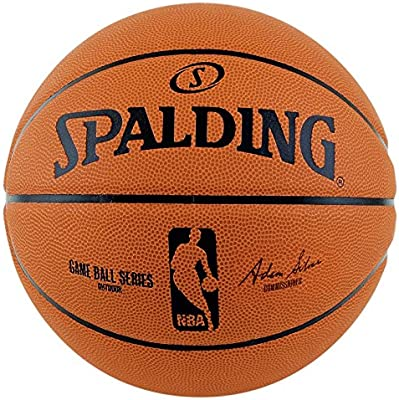 Spalding NBA Game Replica Sz.7 (83-385Z) Balón de Baloncesto ...