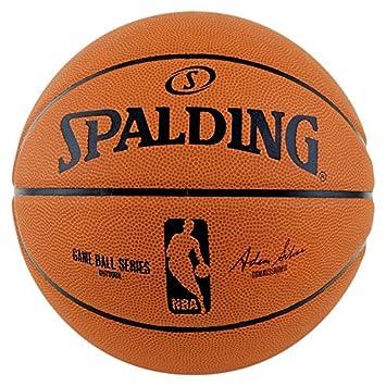 Spalding NBA Gameball Rep.sz.7, (73-361Z) Orange/Schwarz 3001511010317 SPAPO|#Spalding