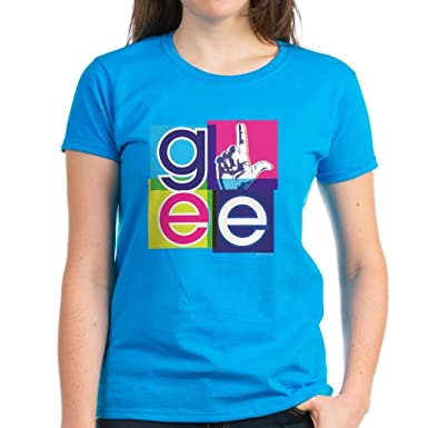 6f96294204b CafePress - Glee El Women s Dark T-Shirt - Womens Cotton T-Shirt Caribbean