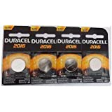 Duracell DL2016 CR2016 DL2016B Coin Type 3 Volt Lithium Battery 4 Pack Security Devices Ect…