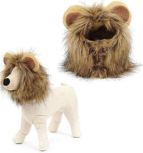 DINBGUCHI 1 Unids Lion Manes Dog Cat Costume. ¡Este Disfraz de ...