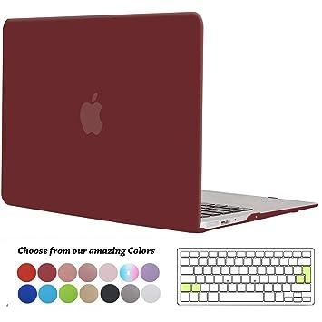 Tecool Funda MacBook Air 13 Pulgadas (Versión: 2010-2017), Delgado Cubierta Plástico Dura Case Carcasa con Tapa del Teclado para MacBook Air 13.3 ...