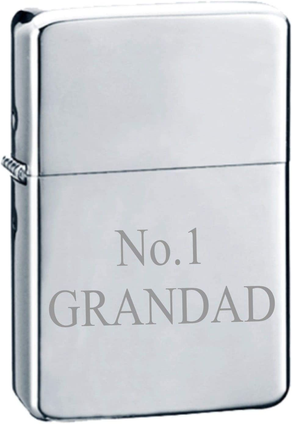 Your text engraved on metal lighter engraved with text Lighter personalised