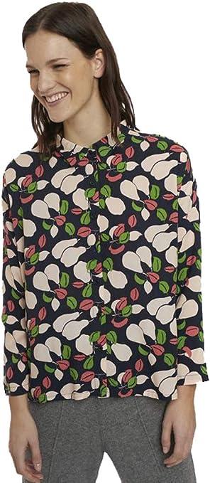 Compañia Fantastica Camisa Oversize Estampado Peras ...