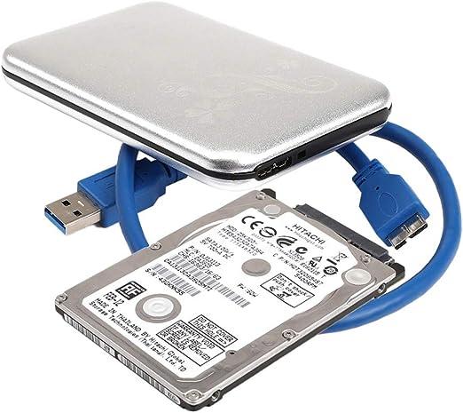 gazechimp ラップトップ/デスクトップ用の2.5インチ1TBポータブル外部モバイルハードドライブUSB3.0 5Gbps