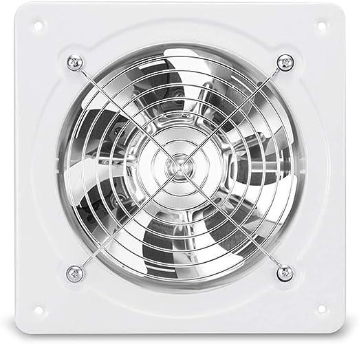 Ventilador de ventilación Industrial, Extractor, Extractor de Pared de la Cocina Campana de Cocina Industrial de Alta Velocidad de 7 Pulgadas y 180 mm: Amazon.es: Hogar