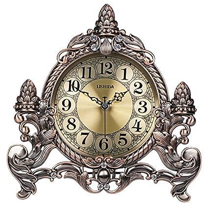 Aemember El silencio del dormitorio escritorio reloj reloj Retro artesanal inglés Reloj de sobremesa Reloj de