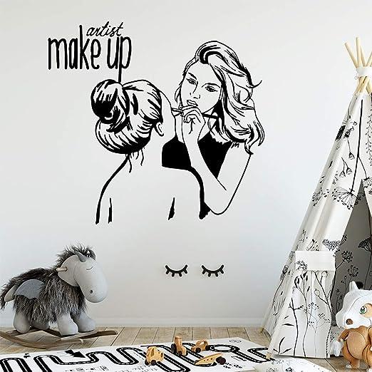 Salón de belleza nórdico Pvc tatuajes de pared decoración para el ...
