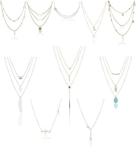 Boho Femme Charme Collier Bijoux Pendentif Large Cadeau Collier Choker