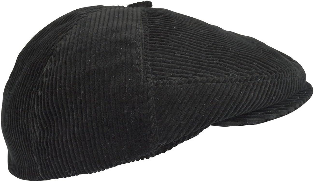 Polo Corduroy Hat Ricardo B.H Black