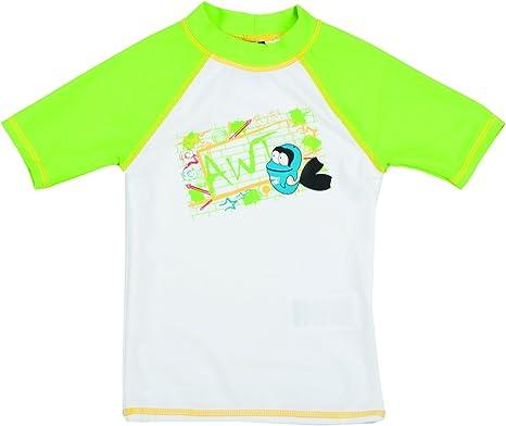 ARENA Niños Protección Solar de baño – Camiseta UV: Amazon.es: Deportes y aire libre