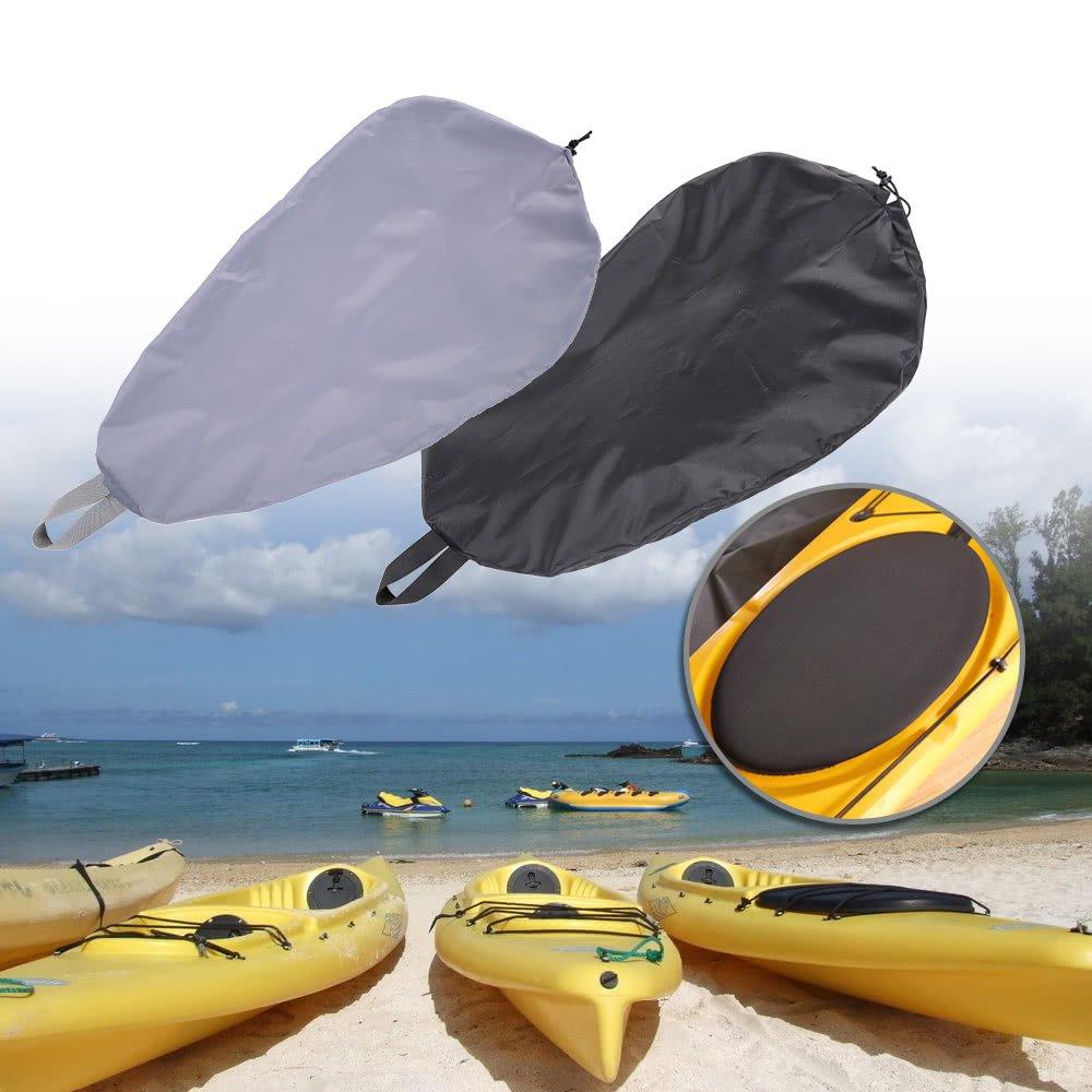 Gris-L MagiDeal Almacenamiento De Gran Tama/ño Cubierta Impermeable Anti-Polvo Kayak Nylon Cabina