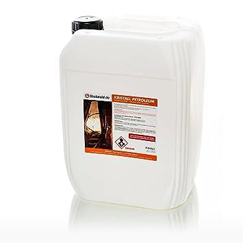 Unbekannt Petróleo 20 litros Limpia y olores en Original Shell de Calidad Cristal de Petróleo para