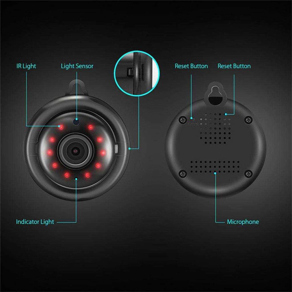 Baoblaze Mini IP Camera Wireless Wifi Home Security Smart Phone V380 Video Cam Night Vision Motion