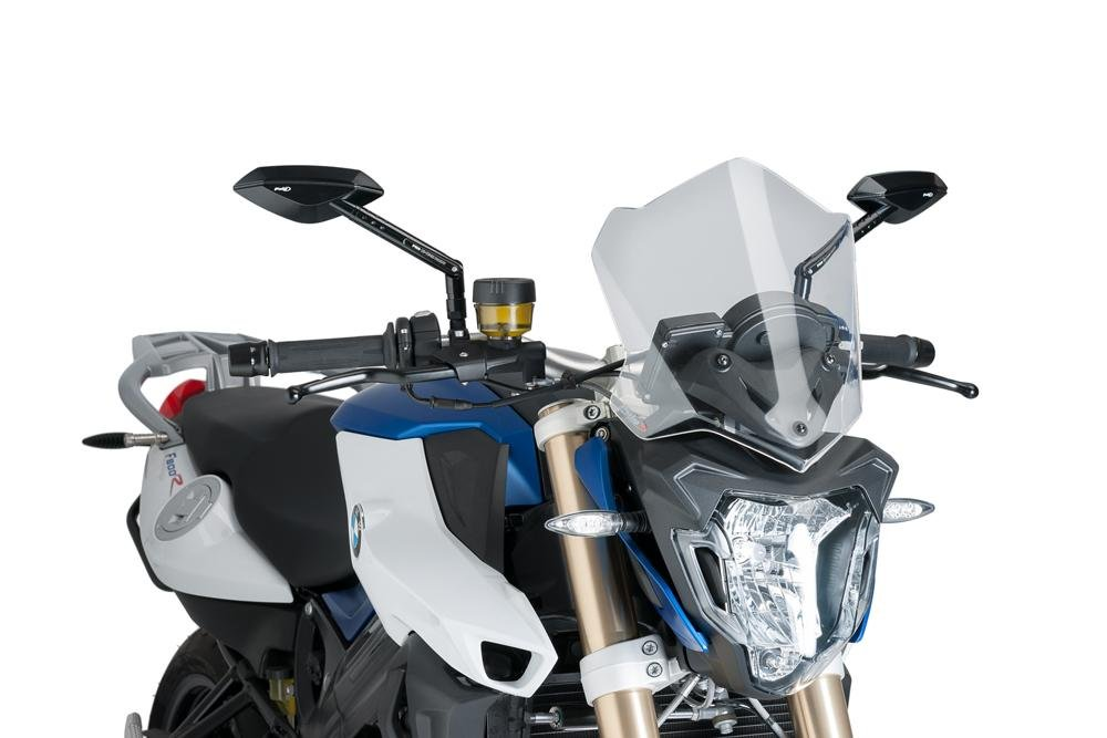 15-17 BMW F800R: Puig Naked Generation Sport Windscreen (CLEAR)