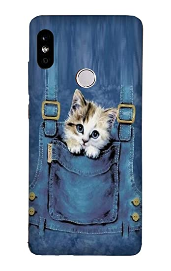 low priced 2603c 6c7dd Sm Telicom Hard Back Cover For Redmi Note 5 Pro (Blue)