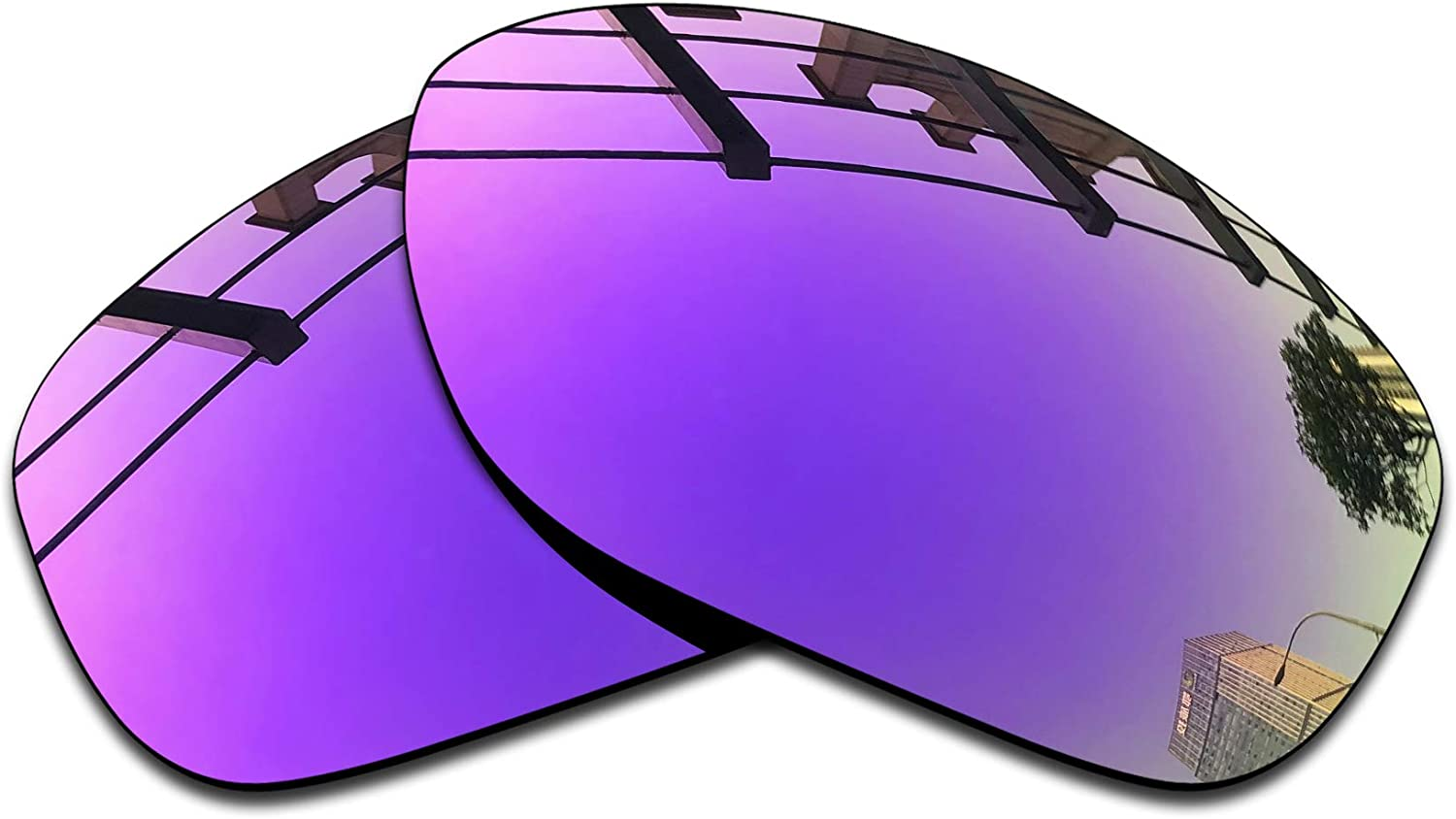 SEEABLE Premium Polarized Mirror Replacement Lenses for Oakley Pit Bull OO9127 Sunglasses