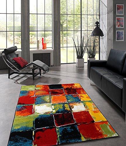 Teppich Wohnzimmer Modern Splash Belis 20739 110-Multi (80 X 150