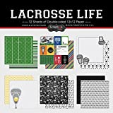 Scrapbook Customs Themed Paper Scrapbook Kit, Lacrosse Life