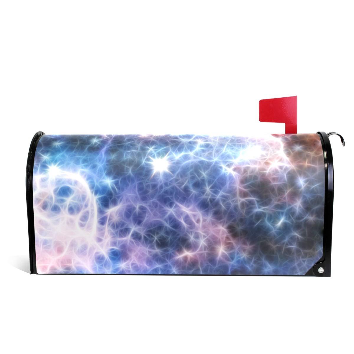 MAPOLO Infrared Light Carina Nebula Magnetic Mailbox Cover Oversized