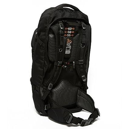 Amazon.com : Vango Voyager 60+20 Travel Rucksack, Black, One Size : Sports & Outdoors
