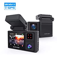 Deals on Auto Vox Dual Dash Cam Front and Inside w/Magnetic Bracket
