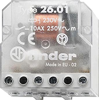Finder 260280120000PAS Step Relay Box 230 VAC 1 NO 10 A 260182300000PAS