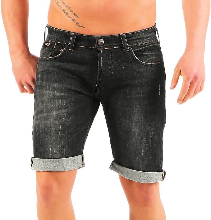 TALLA 33W. M.O.D Thomas Bermuda Pantalones Cortos para Hombre